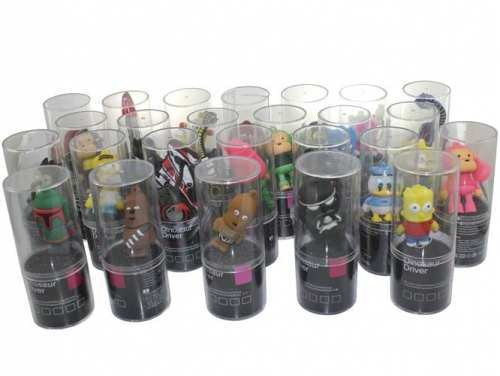 MEMORIA USB FLASH 8GB FIGURAS PERSONAJES